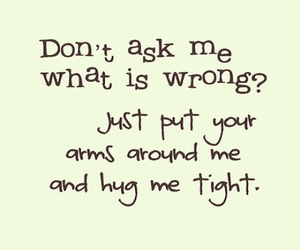 quote, hug, and ask image
