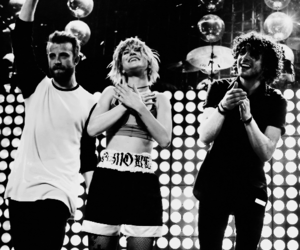 paramore and black and white image