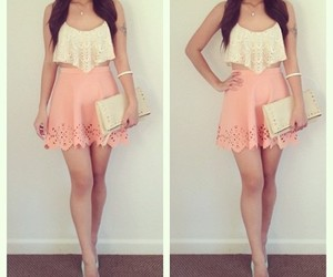 outfit, pretty, and cute image