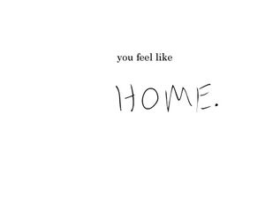 home, text, and you image