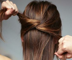 hairstyles, knots, and popular image