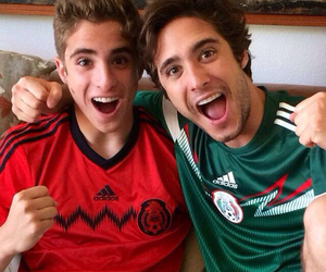 mexico, soccer, and diego boneta image