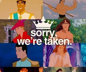 disney, prince, and taken image