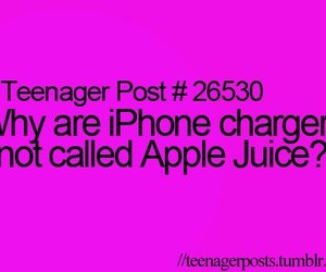 charger, iphone, and apple juice image