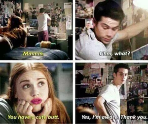 butt, lydia, and teen wolf image