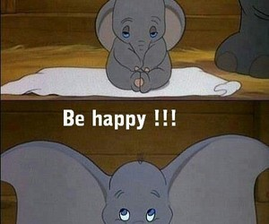 disney, dumbo, and happy image