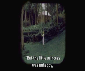 princess, unhappy, and quote image