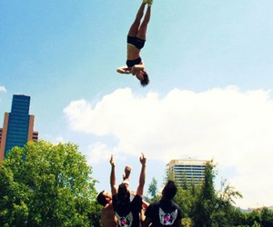 basket, cheer, and flyers all star image