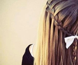 blonde, hair, and cute image