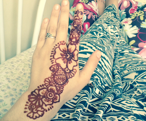 design, henna, and mehndi image