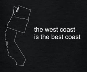 california, quotes, and west coast image