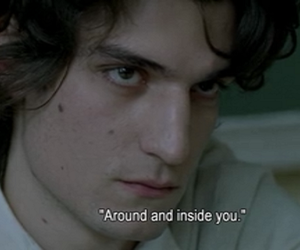 louis garrel, quotes, and movie image