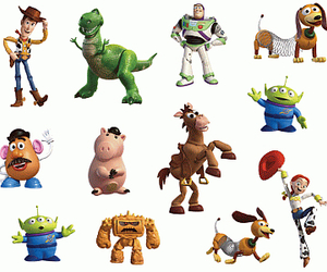 character, toy, and toystory image