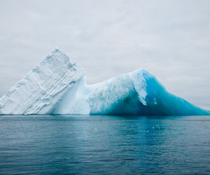 ice, iceberg, and blue image