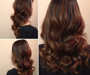 brown, brunette, and dark image