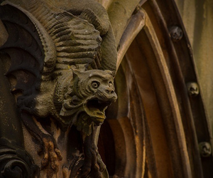 cathedral, gargoyle, and medieval image