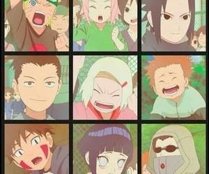 naruto, kiba, and sakura image