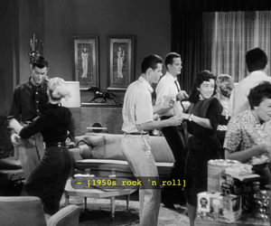 50's, movie, and music image