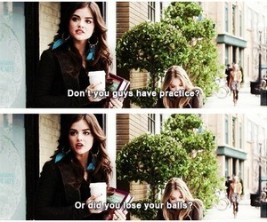 pll, aria, and funny image