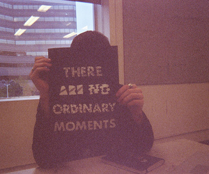 moments and ordinary image