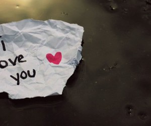 Paper and love image