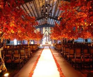 aisle and wedding image