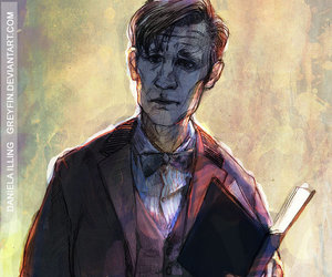 doctor who, fanart, and doctor who fanart image