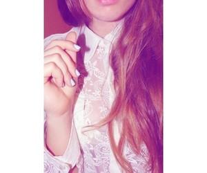 girl, instagram, and lips image