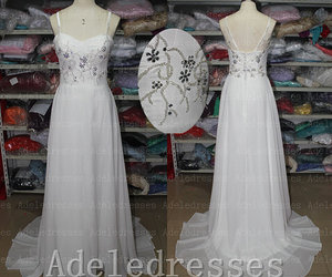 bridal gown, wedding gown, and prom dress image