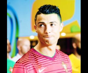 cristiano ronaldo, football, and Hot image