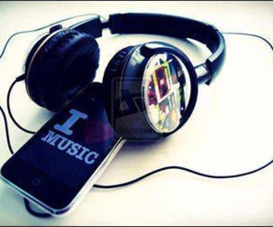 i love and music image