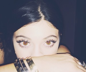 kylie jenner, eyes, and kyliejenner image