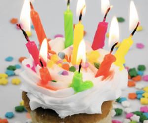 aniversario, color, and cupcake image