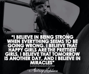 quotes, audrey hepburn, and strong image