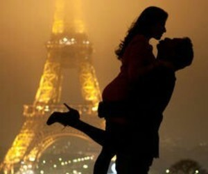 amor, francia, and paris image
