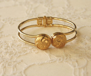 bridesmaid, gold bracelet, and for her image