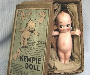 kewpie, vintage, and old object image