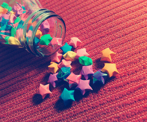 stars and little paper stars image