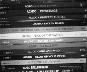 ac dc, hard rock, and music image