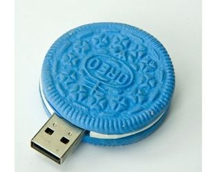 oreo, blue, and usb image
