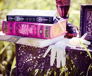 book, nature, and pink image