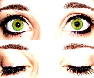 eyes, face, and girl image