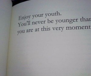 quotes, youth, and book image