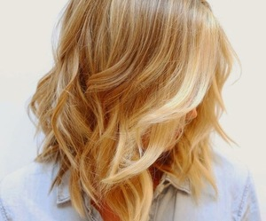 blonde, brunett, and curly image