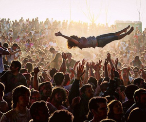 concert, people, and crowd image
