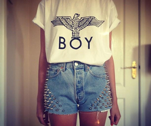fashion, boy, and girl image