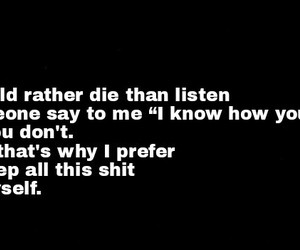 die, quotes, and stupid people image
