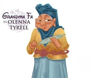 disney, game of thrones, and olenna tyrell image