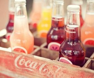 drink, coca cola, and summer image