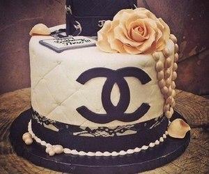 cake, chanel, and fashion image